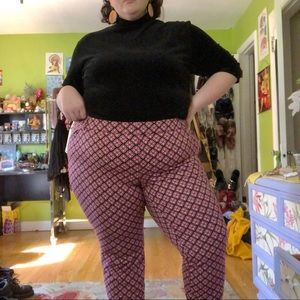 Old Navy Patterned Pants